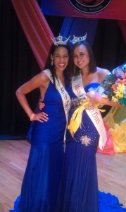 Kim Brennan, pictured on the right, was named Miss Kool-Aid 2012